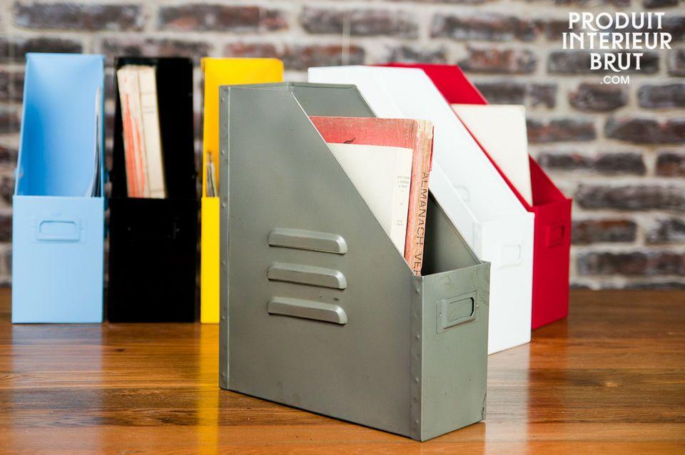 Une touche industrielle pratique pour tous vos papiers