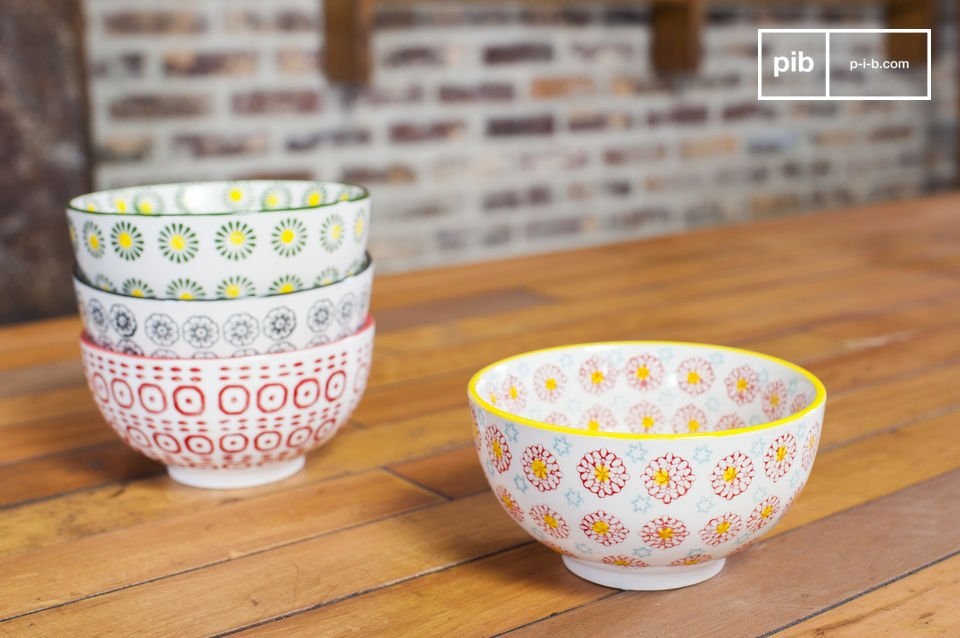 Les bols Julia sont des pièces pratiques et originales qui apporteront une touche rétro à votre décoration d\'intérieur