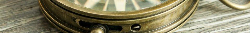Mise en avant matière Boussole de timonier