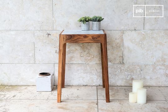 Bout de canapé en marbre Marmori
