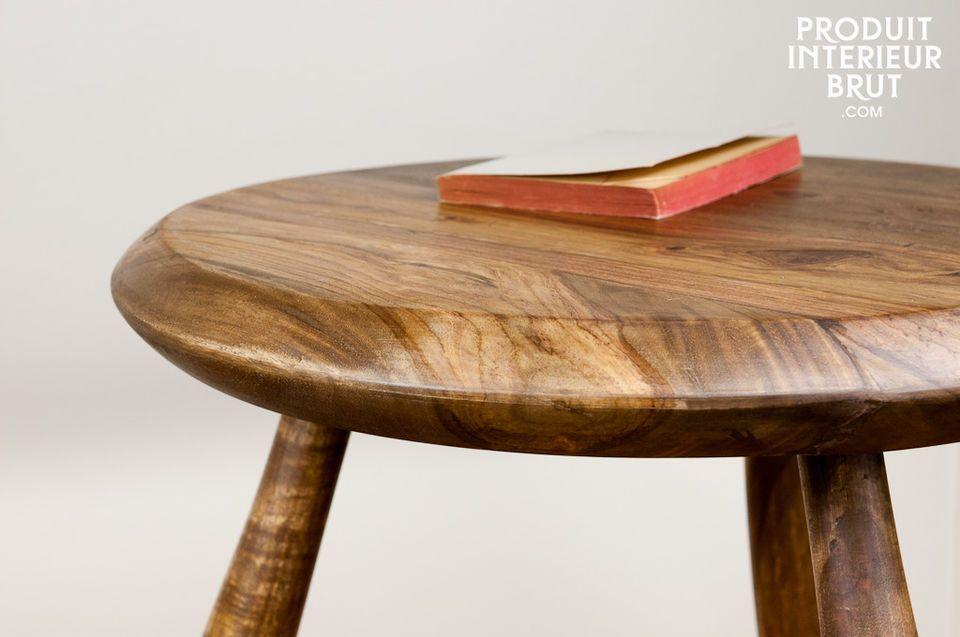 Table d'appoint ou tabouret, une touche boisée pour votre intérieur