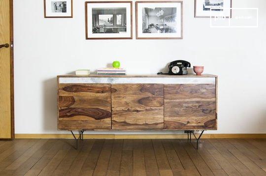 Buffet en bois massif en bois mabillon