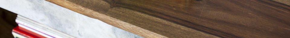 Mise en avant matière Buffet en bois Mabillon