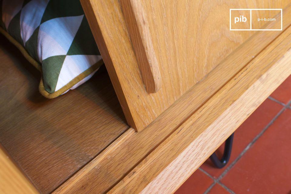 Les portes coulissantes sur glissière en bois peuvent se chevaucher entièrement