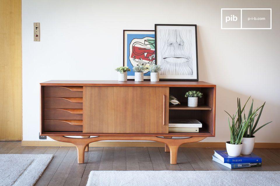 Véritable ode au design scandinave des années 50