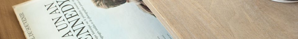 Mise en avant matière Bureau en bois Zurich