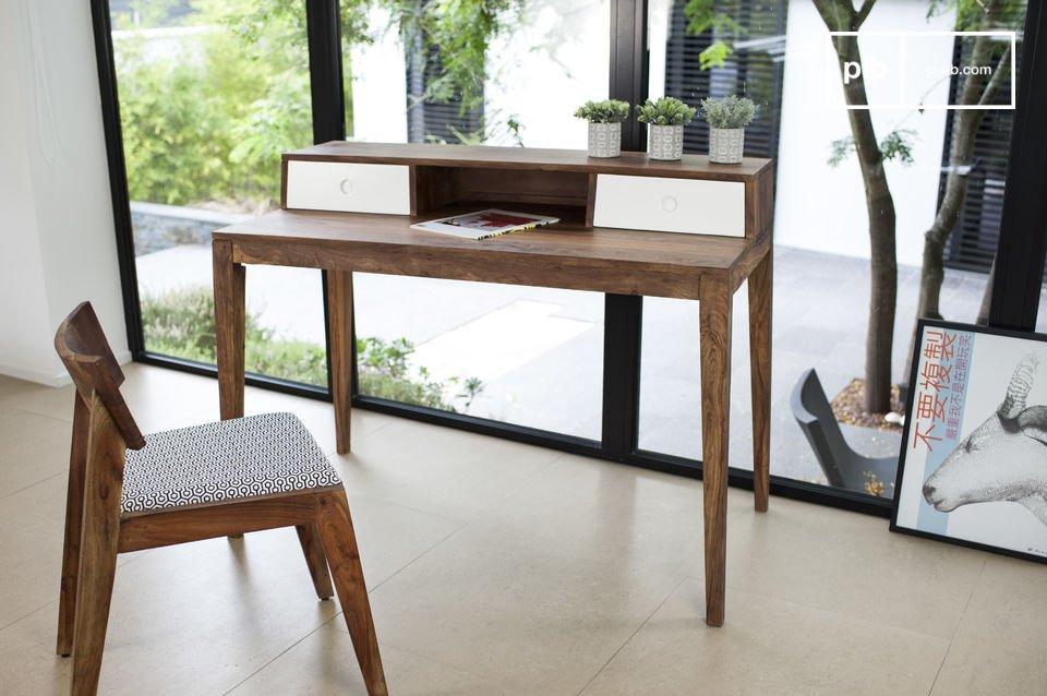 Le bois naturel et l'élégance propre au meuble scandinave vintage