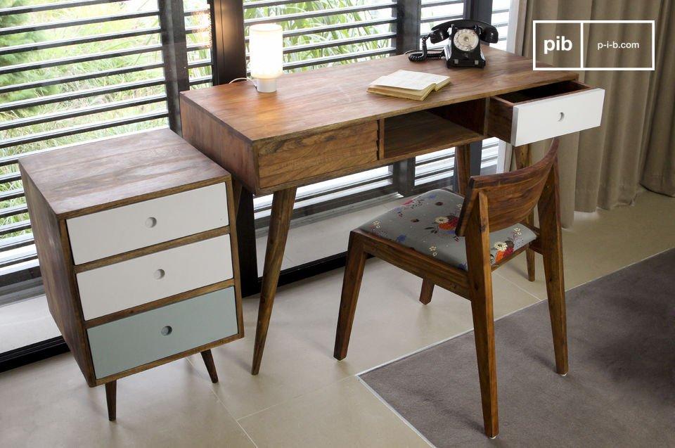 bureau stockholm un design typique des ann es 50 100 pib. Black Bedroom Furniture Sets. Home Design Ideas
