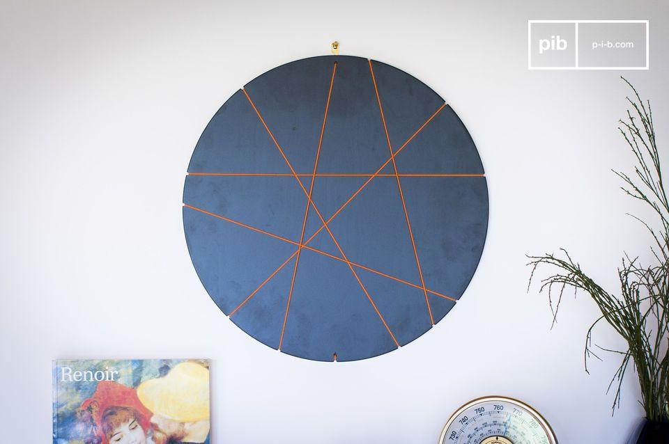 Ce cadre photo rond au design innovant vous permettra de décorer votre chambre ou votre appartement
