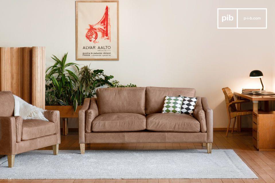 Élégance intemporelle, excellent confort et cuir de qualité