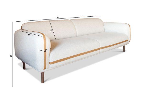 dimension canap 3 places best poids canape places canapac. Black Bedroom Furniture Sets. Home Design Ideas