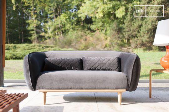 Canapé arrondi Olson