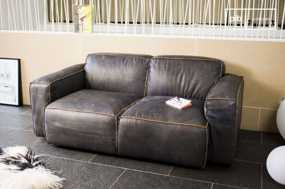 Il confère à ce canapé un côté \