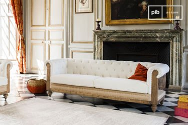 Grand Canapé Chesterfield Montaigu