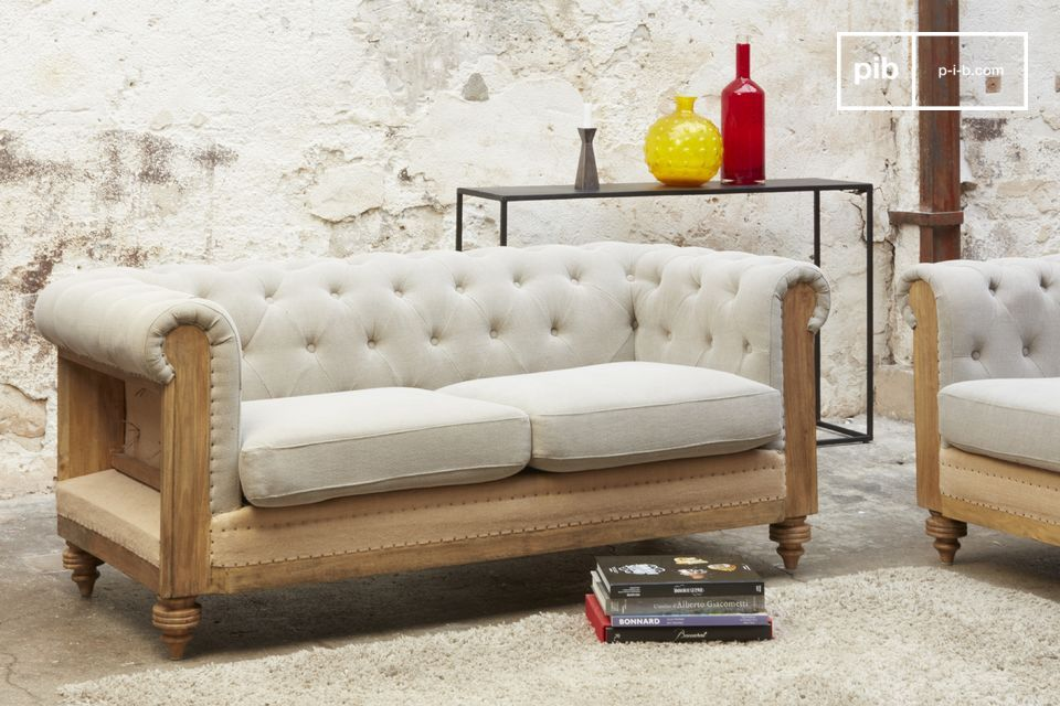Le confort d'un sofa original, irrésistiblement rétro
