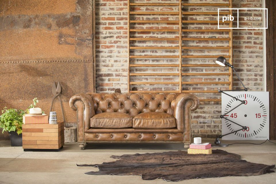canap chesterfield saint paul ambiance club anglais pib. Black Bedroom Furniture Sets. Home Design Ideas