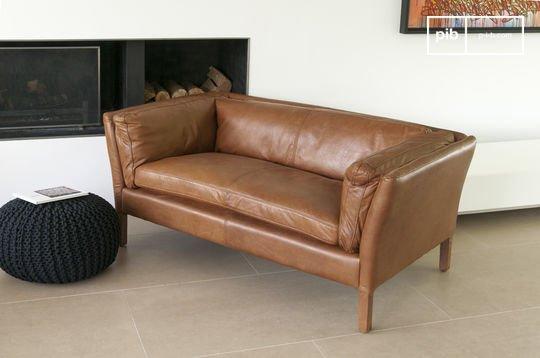 Canapé cuir Hamar