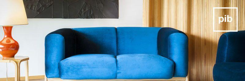 Canapé de style vintage