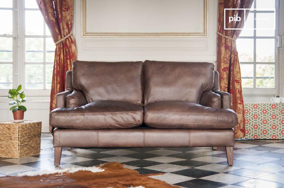 canap en cuir sanary confort et d tente pib. Black Bedroom Furniture Sets. Home Design Ideas
