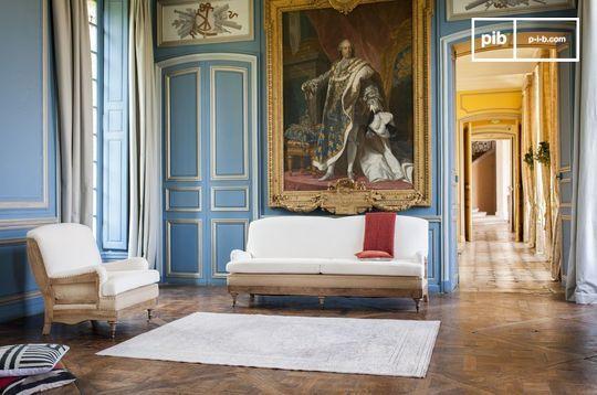 Canapé en tissu Gustave