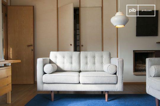 Canapé en tissu Silkeborg