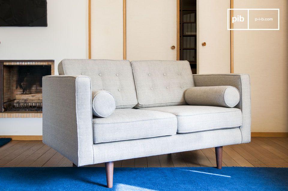 Un canapé tissu qui deviendra rapidement votre élément préféré du salon