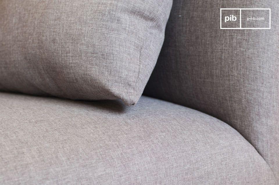 Pour parfaire l\'aspect cosy du canapé Jackson