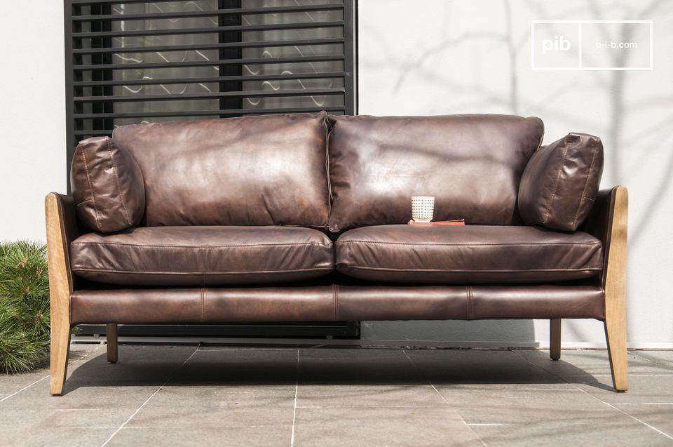 Canapé scandinave à l'élégance du design vintage
