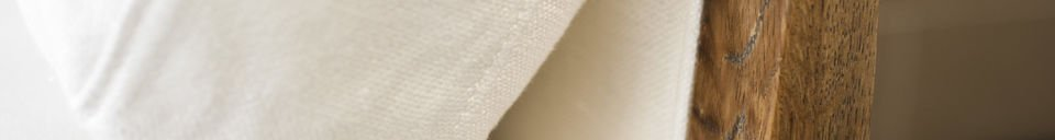Mise en avant matière Canapé Vintage Ariston Blanc