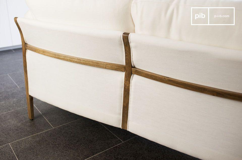 L'élégance d'un canapé scandinave au design vintage