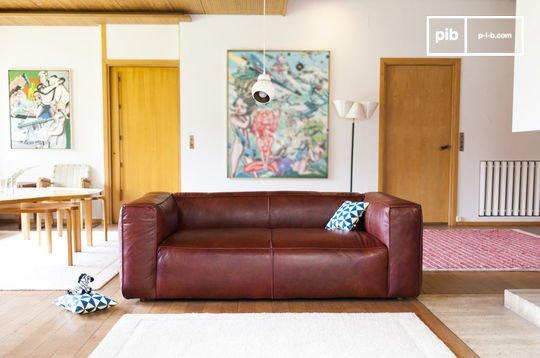 Canapé vintage Krieger 2 places