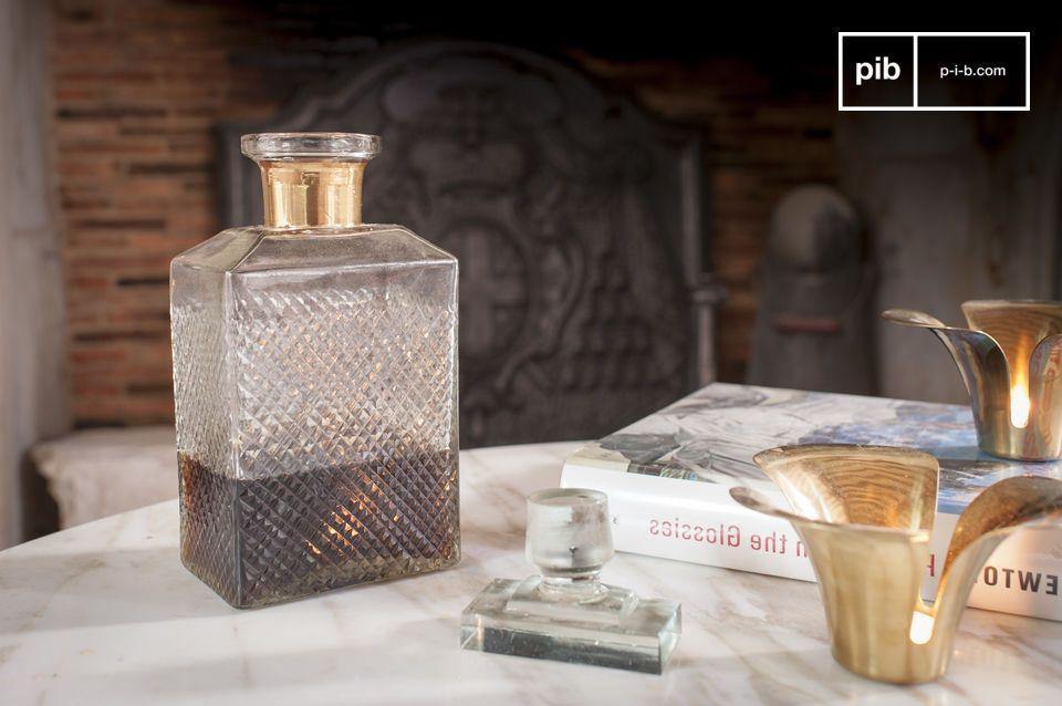 Un flacon élégant pour le whisky
