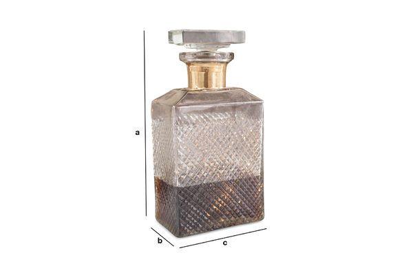 Dimensions du produit Carafe à décanter Harvey