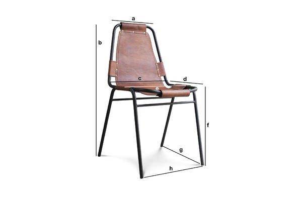 Dimensions du produit Chaise Bergson