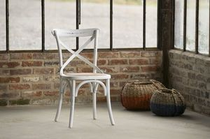 Chaise bistrot Pampelune Blanche