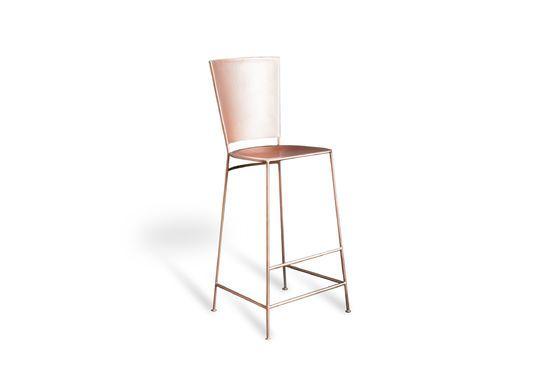 Chaise de bar cuivrée Belery Détouré