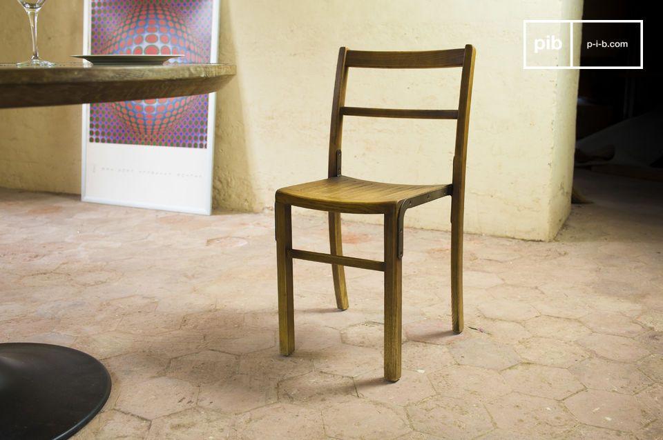 Une chaise à associer avec du mobilier de style industriel vintage