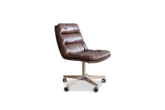 Chaise de bureau en cuir Breunor Détouré