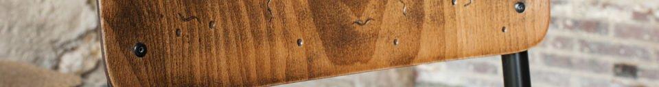 Mise en avant matière Chaise de style vintage Doinel