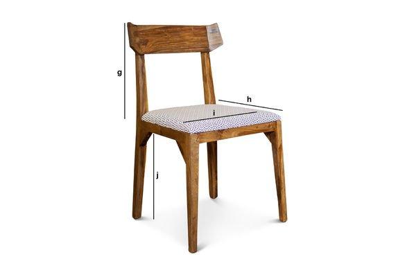 Dimensions du produit Chaise Elsa