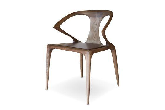Chaise en bois cintré Kirsten Détouré