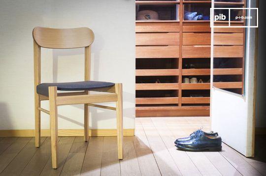 Chaise en bois clair Elena