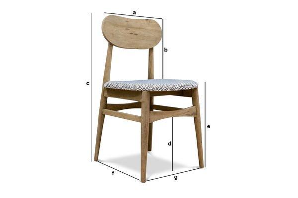 chaise en bois jot n rondeurs et charme d 39 une chaise pib. Black Bedroom Furniture Sets. Home Design Ideas