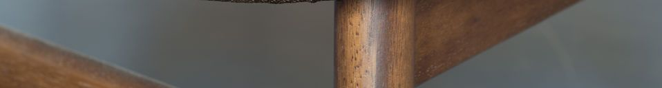 Mise en avant matière Chaise en bois Larssön