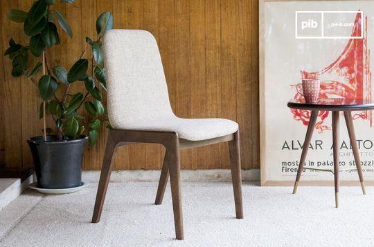 Chaise en tissu Estella
