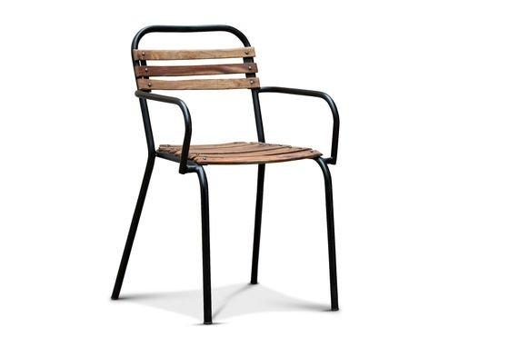 Chaise de style industriel pib - Chaises a accoudoirs ...