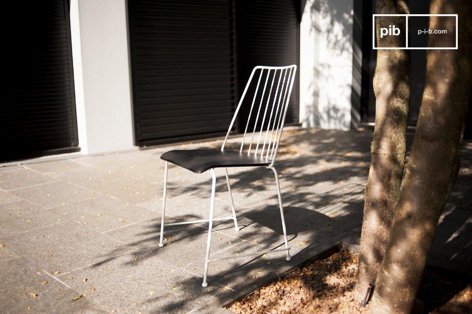 Chaise métal Hossegor