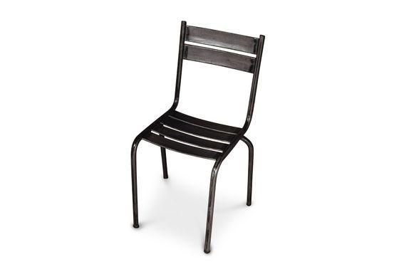 Chaise métal Pretty Black Détouré