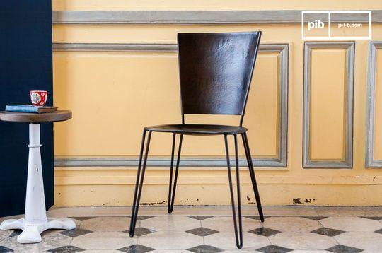 Chaise métallique Matteo