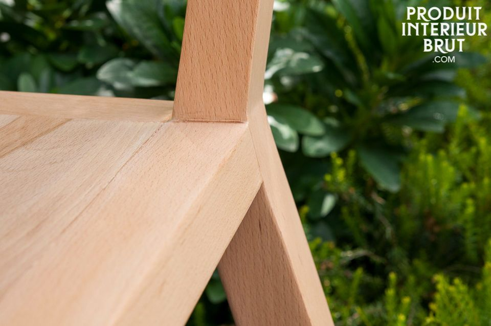 Chaise au design scandinave du mobilier nordique